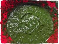 Spařený rozmixovaný špenát