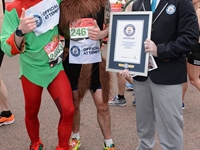 Ashley Payne (elf), Paul Richards (Viking), 2:58:26 (elf), 3:03:16 (Viking)